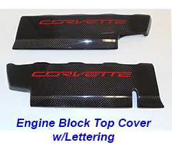 C7 Engine Block Cover w-lettering-CF-pair-1a 250