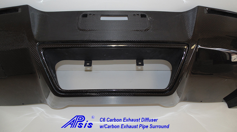 C7 Exhaust Diffuser w-carbon exhaust surround pc-clost shot-1