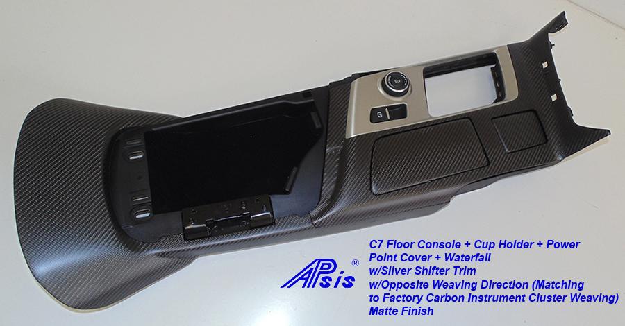 C7 Floor Console+Waterfall-matte w-opposite weaving-4