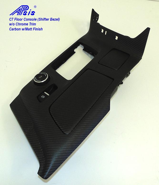 C7 Floor Console-laminate whole pc-matt finish-individual-5