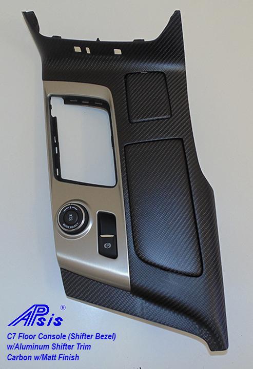C7 Floor Console w-chrome trim-matt-individual-1