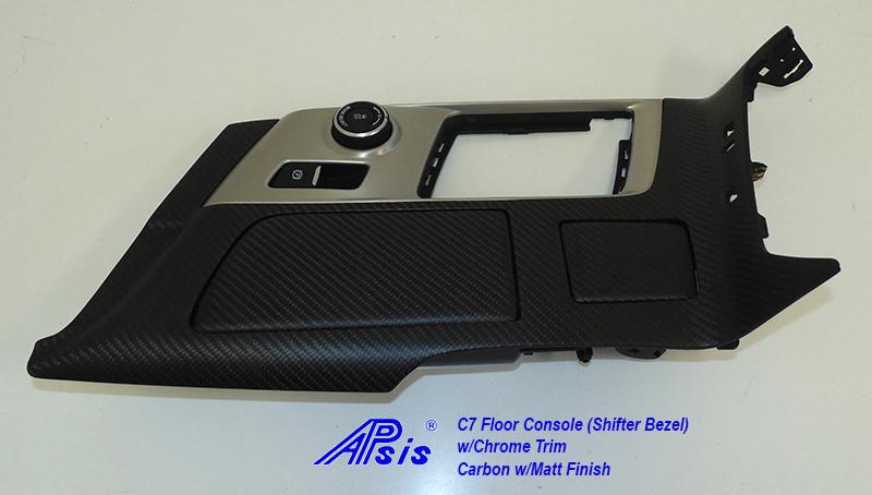 C7 Floor Console w-chrome trim-matt-individual-3