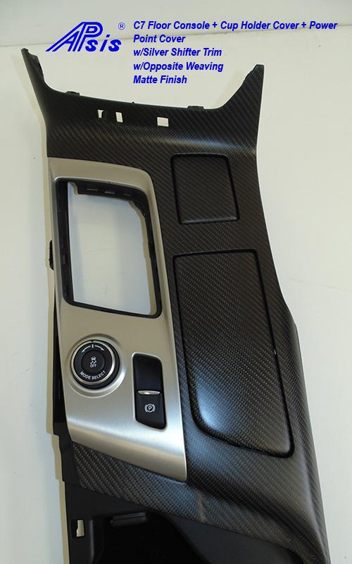 C7 Floor Console w-reverse stitching-matte-1