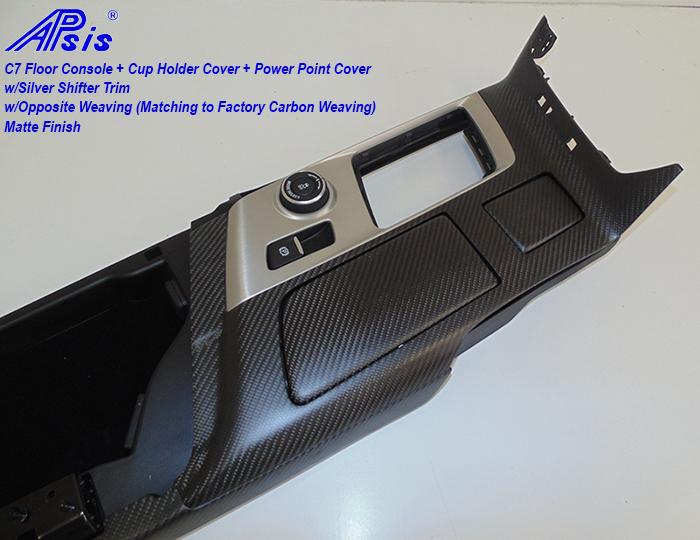 C7 Floor Console w-reverse stitching-matte-4