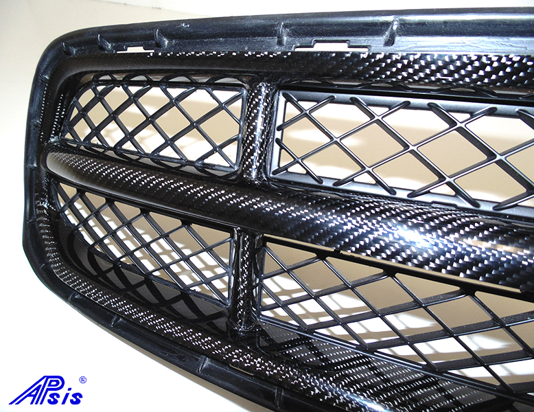 C7 Front Grille w-o chrome-individual-close shot-10
