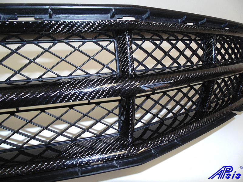 C7 Front Grille w-o chrome-individual-close shot-4