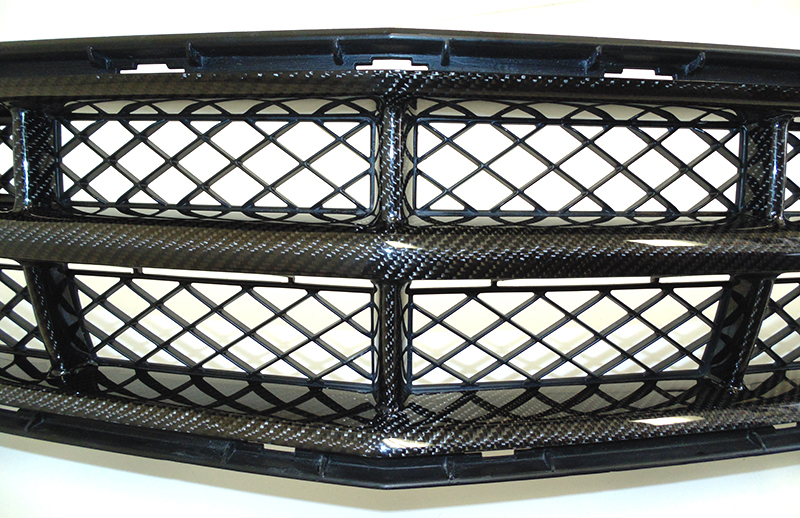 C7 Front Grille w-o chrome-individual-close shot-7
