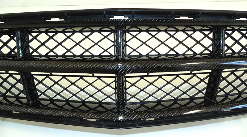 C7 Front Grille w-o chrome-individual-close shot-9