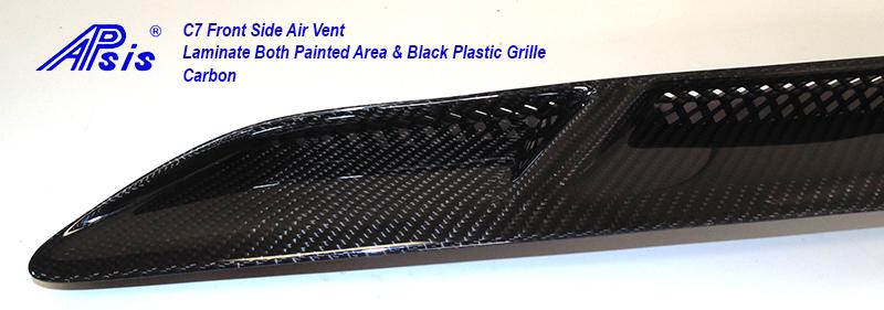 C7 Front Side Air Vent-laminate whole pc-13 close shot