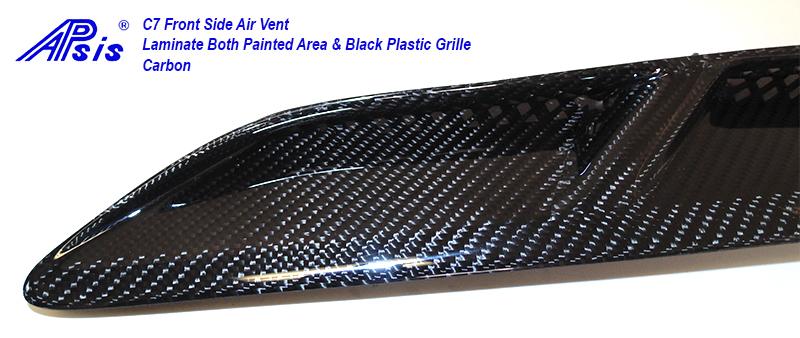 C7 Front Side Air Vent-laminate whole pc-14 close shot