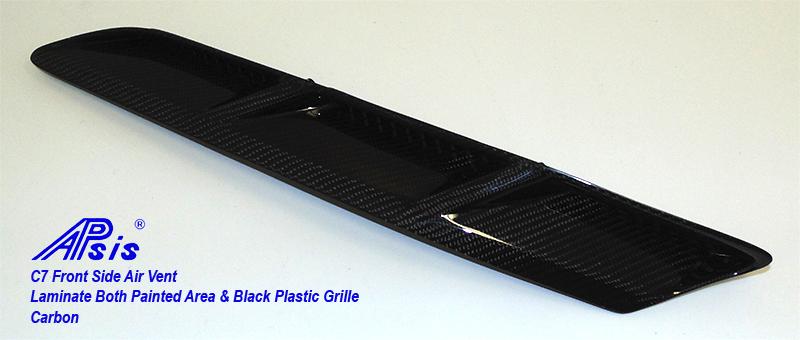 C7 Front Side Air Vent-laminate whole pc-2