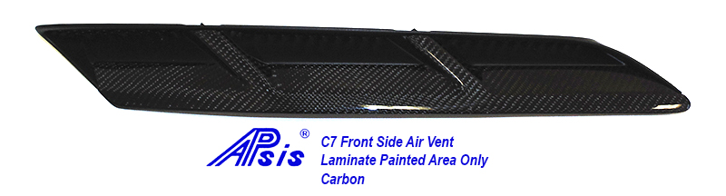 C7 Front Side Air Vent-laminated painted area only-2