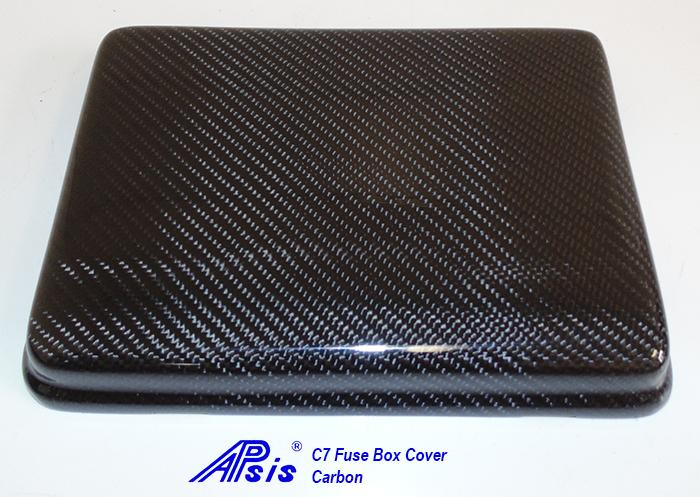 C7 Fuse Box Cover-CF-individual-1