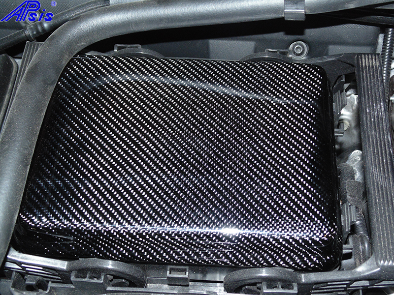 C7 Fuse Box Cover-CF-installed-1