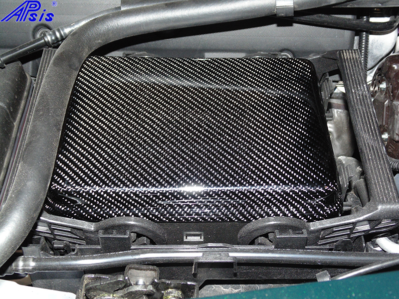 C7 Fuse Box Cover-CF-installed-2