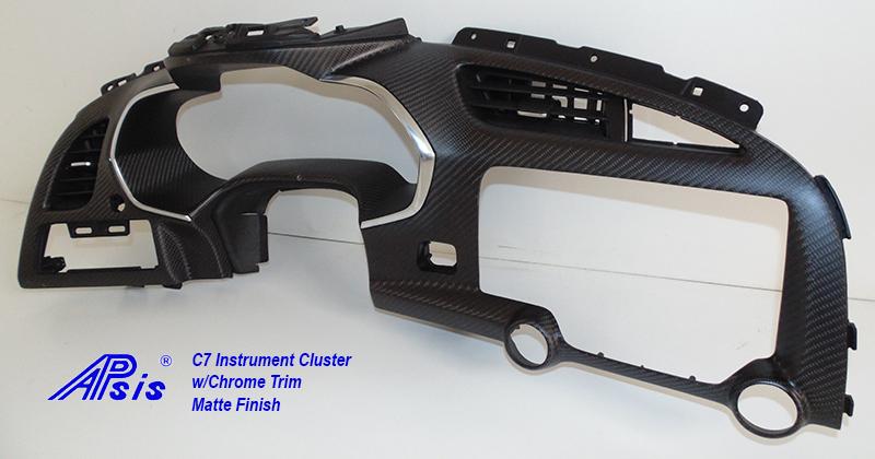 C7 Instrument Cluster w-chrime trim-matt-individual-2