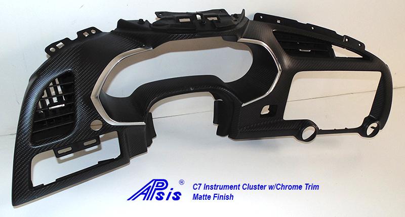 C7 Instrument Cluster w-chrime trim-matt-individual-3