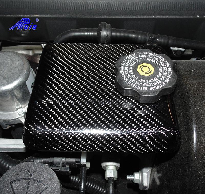 C7 Master Cylinder Cover-installed-1