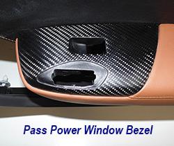 C7 Pass Power Window Bezel-matte-installed on kalahari door panel only-1 crop 250