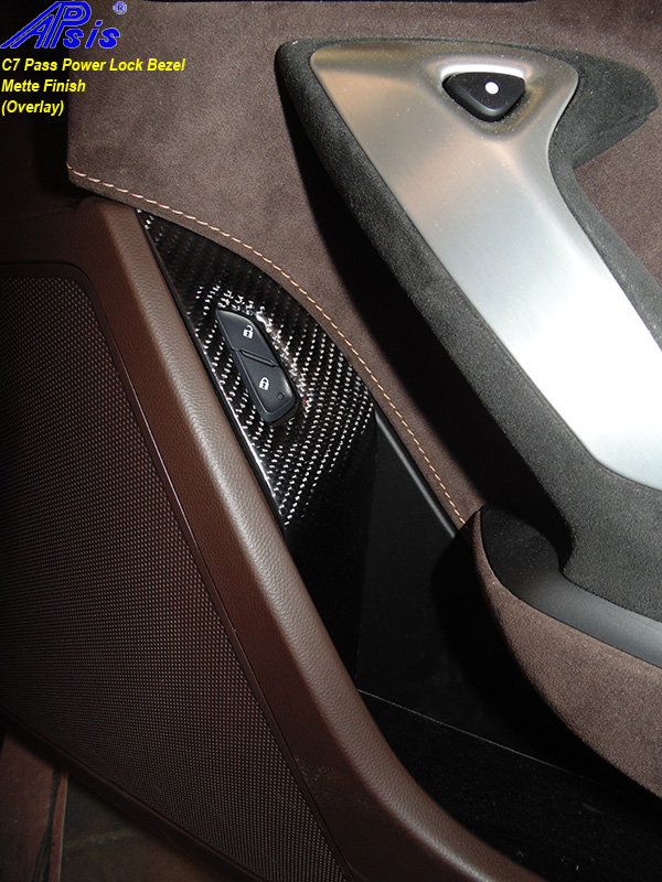 C7 Power Lock Bezel-matte-installed on jerseys car-2