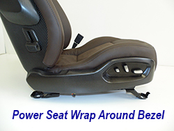 C7 Power Seat Wrap Around Bezel 250