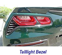 C7 Rear Light Bezel-installed-driver-1 250