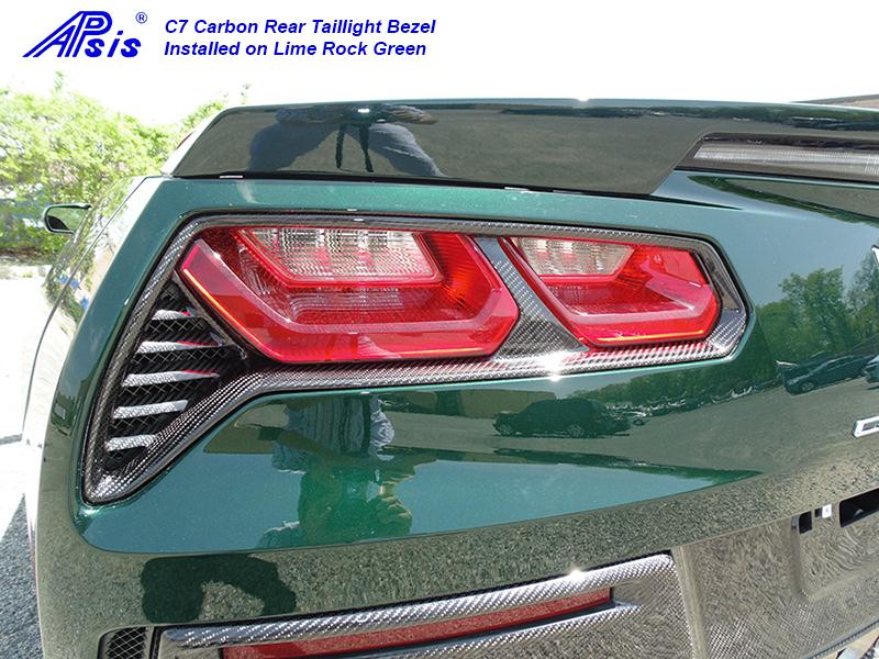 C7 Rear Light Bezel-installed-driver-1