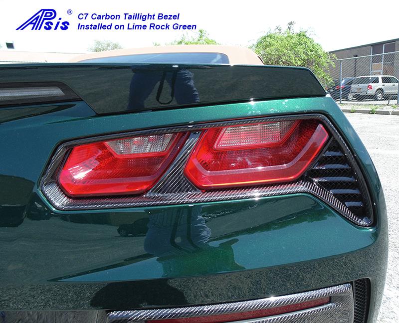 C7 Rear Light Bezel-installed-pass-1