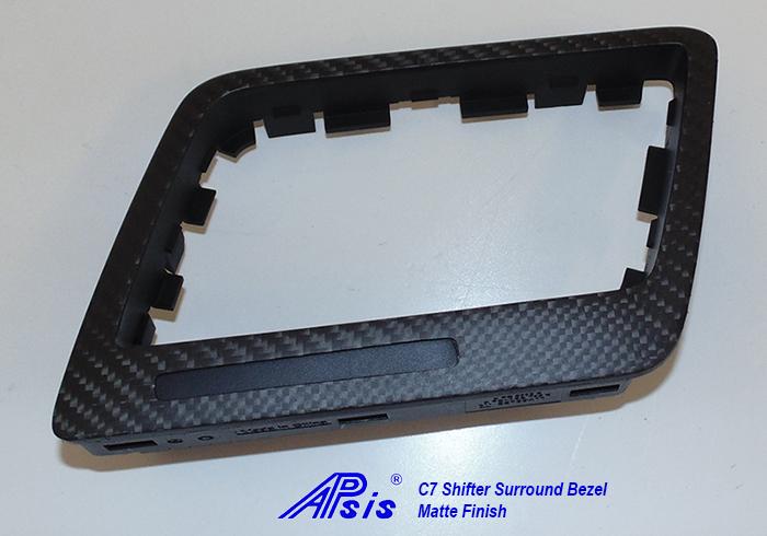 C7 Shifter Surround Bezel-matte finish-3