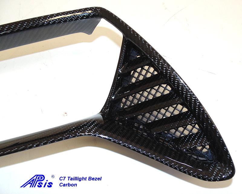 C7 Taillight BezelCF-individual-right-4 close shot