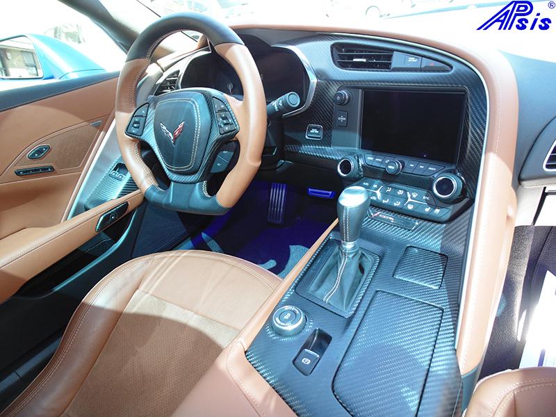 C7 Whole Interior-matte finish-scotts car-1