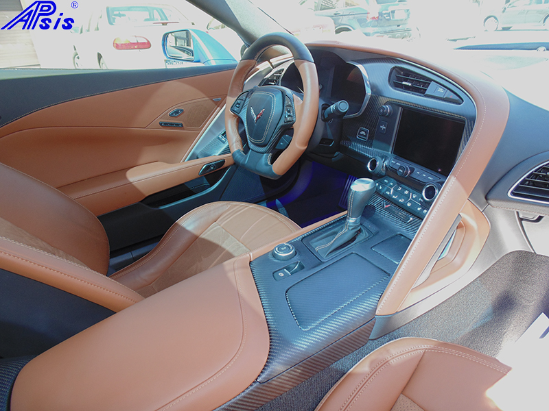 C7 Whole Interior-matte finish-scotts car-3