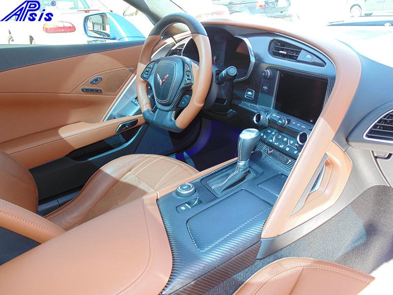 C7 Whole Interior-matte finish-scotts car-5