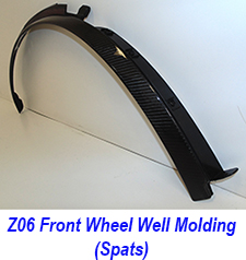 C7 Z06 Front Wheel Well Molding(Spats)-indi-1 250