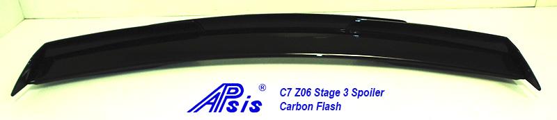 C7Z06STAGE3SPOILERCFNONINST3