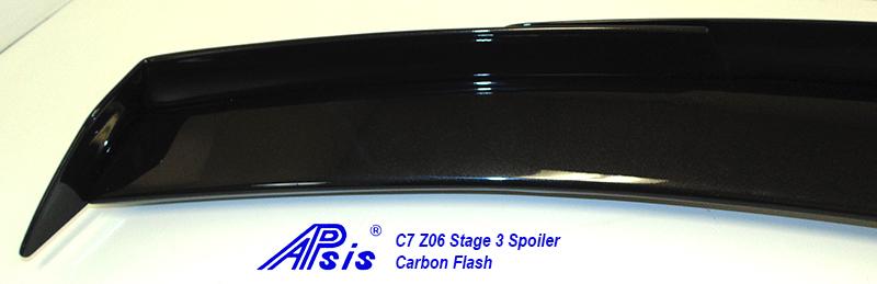 C7Z06STAGE3SPOILERCFNONINST5