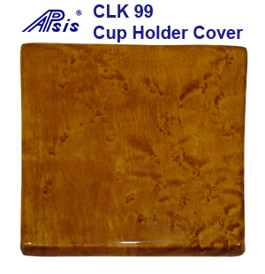 CLK 99 Golden Birdseye-Cup Holder Cover-1-done