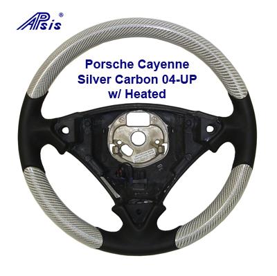 Cayenne SW-Heated-Silver CF- 400 04-UP
