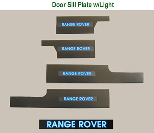 Door Sill Plate w-Light-w-description