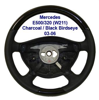 E Class (W211) 03-06 Black Birdseye-black-1-crop-done
