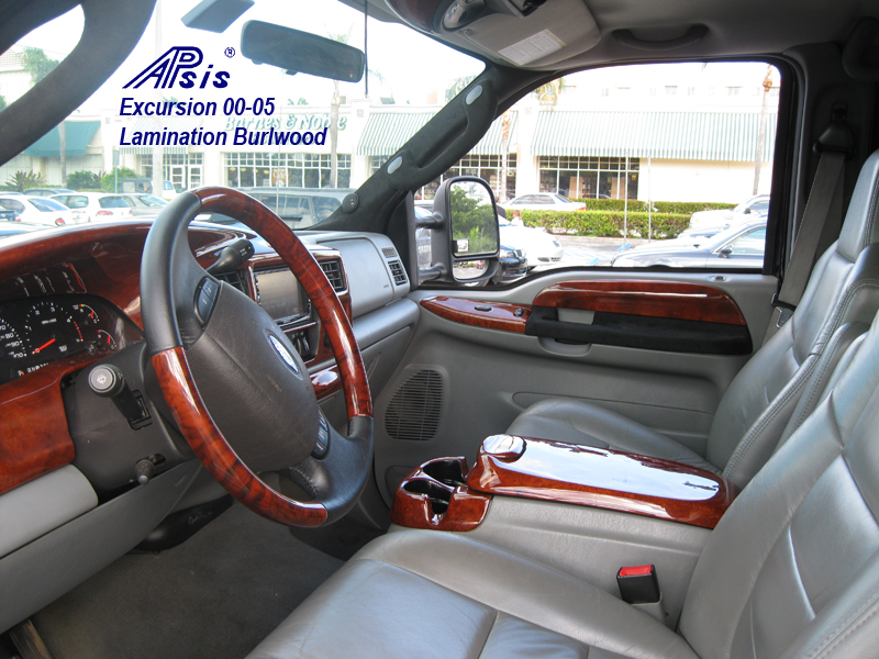 Excursion Whole Interior Burlwood Installed 2 ...