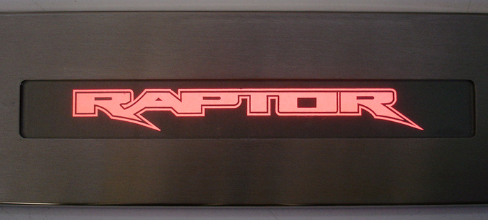 F-150 Raptor logo-red light-1