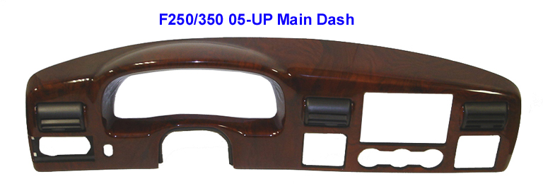 F250 05-UP Lamination Burlwood-Main Dash - 768 w-Description