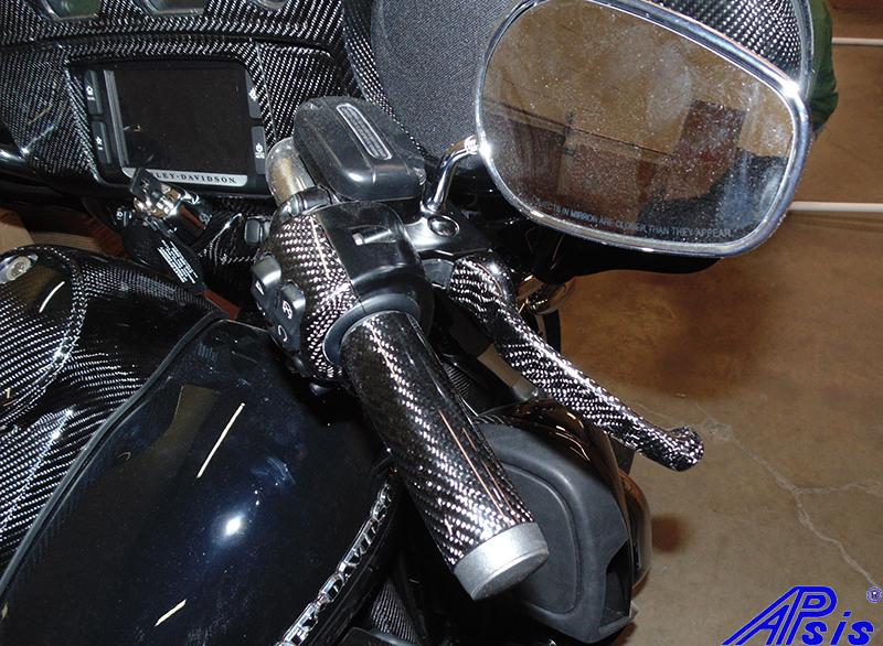FLH Brake Lever-installed-taken at warehouse-1