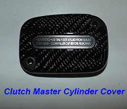 FLH Clutch Master Cylinder Cover-1 250