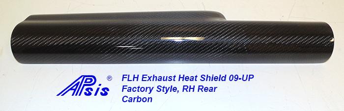FLH Exhaust Heat Shield-RH Rear-individual-1