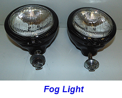 FLH Fog Light-CF-pair-2 front view 250