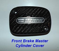 FLH Front Brake Master Cylinder Cover-1 250