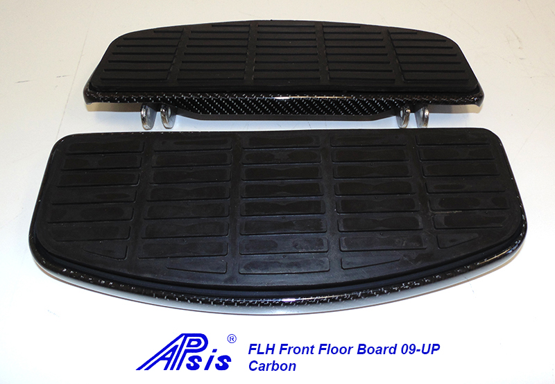 FLH Front Floor Board-factory style-CF-pair-1
