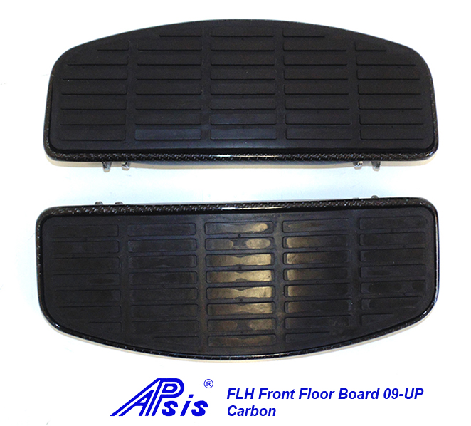 FLH Front Floor Board-factory style-CF-pair-2